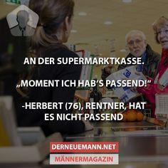 An der Supermarktkasse #derneuemann #humor #lustig #spaß