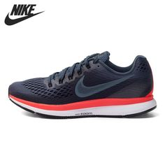 Original New Arrival 2017 NIKE AIR ZOOM PEGASUS 34 Men's Running Shoes Sneakers #nikeshoes #fitnessaccessories #sportsshoes #footwear #nikeair #sneakers #runningshoes #amalhantashfitness Nike Air Pegasus, Basketball Shoes, Sports Shoes, Shoe Releases, Running Shoes For Men, Workout Accessories, Flip Watch, Types Of Shoes, Men Sneakers