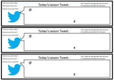 tweet templates for students - Google Search
