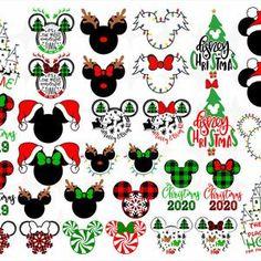 Disney Christmas Crafts, Disney World Christmas, Mickey Mouse Christmas, Disney Ornaments, Christmas Vinyl, Disney Crafts, Disney Fun, Grinch Christmas, Mugs