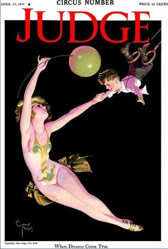 Judge Pin-Up Magazine Cover, Enoch Bolles Vintage Advertisements, Vintage Ads, Vintage Posters, Vintage Prints, Vintage Signs, Myrna Loy, Old Magazines, Vintage Magazines, Magazin Covers