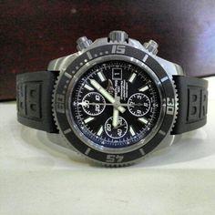 Breitling SuperOcean Blacksteel Chrono 44