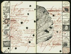 Gulliver's Travels by Julia_Julia.f I like the sepia colored ink Artist Journal, Artist Sketchbook, Book Journal, Art Journals, Fashion Sketchbook, Journal Ideas, Book Art, Julia Julia, Sketchbook Inspiration