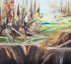 "Saatchi Online Artist: Katia Setti; Oil, Painting ""Rileigh County, WV"""