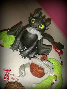 How to Train Your Dragon Cake - Kako da dresirate svog zmaja torta by Balerina Torte Jagodina | by Balerina Torte Jagodina