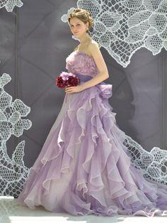 ノバレーゼ(NOVARESE) 銀座 ボリュームのあるシルエットでフォトジェニックな花嫁に