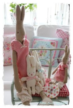 .i just love these bunnies!