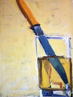 I love this painting, it's by Richard Diebenkorn, sometime in the 60's