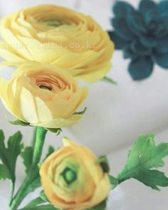 #ranunculus #sugarflower #fondant #gumpaste #flower #korea