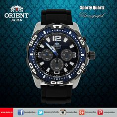 Check out the new arrival of orient sporty quartz watch... #orientwatch #orientwatches #wristwatch #CHRONOGRAPH #SPORT #QUARTZ #luxury #fashion #watch #watches #orient #online #juma #jumajordan #jumastore #amman #jordan #jo #الأردن #ساعات #اورينت https://goo.gl/Mlm7qY