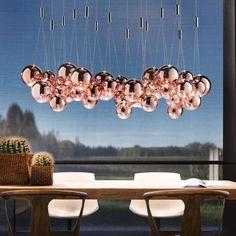 Studio Italia Design RANDOM LED-Pendelleuchte, 15-Kugeln - Design Chia-Ying Lee - empor.de