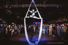 Aerialist at Shpongle at The International - Knoxville, TN
