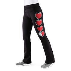 Health Bar Yoga Pants - why yes, I am tired, why do you ask?