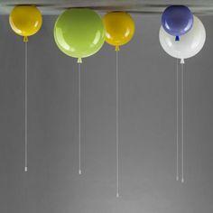 Suspensions luminaires ballons