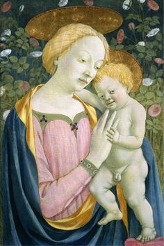 Domenico Veneziano - Madonna and Child