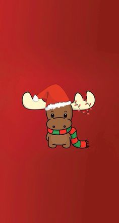 Rudolph ★ Download more Christmas iPhone Wallpapers at @prettywallpaper