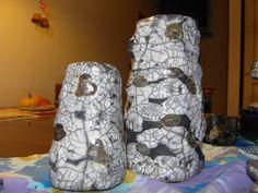 vasi scavati in un blocco unico (troppo pesanti pero')