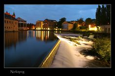City streams - Norrkoping, Ostergotland