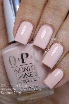 Simple pink nail polish