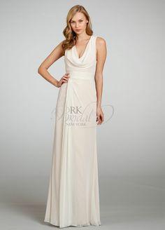 Bridesmaid dresses - too white