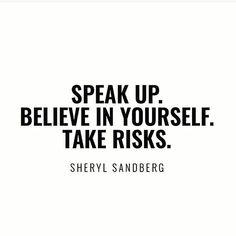 @sherylsandberg #believeinyourself #weekendwisdom #entrepreneur #ProductiveShapeLife #Quotes - view more at ProductiveShapeLife.com