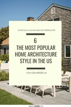 In the US, there are certain home architecture styles that you can see in almost residential real estate. #decorholic #homearchitecture #architectureideas #architecture #homedesign #designinspiration