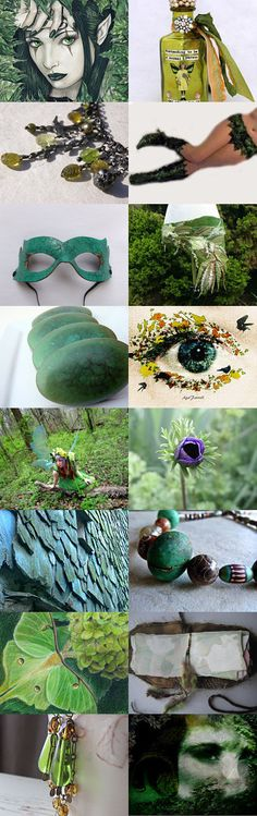Green Fairy by 3buu on Etsy--Pinned with TreasuryPin.com