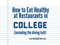 The best under 25 steals for your space eat healthy hard to how to eat healthy in college at restaurants and at the dininghall ccuart Gallery