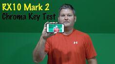 Sony RX10 II Green Screen, Internal Audio & App Test in 4K