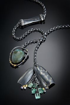 """Don't you agree? """"Wearing a piece of art jewelry is an expression of individuality,"""" says artist Sydney Lynch. Smithsonian Craft2Wear, Oct 1-3, 2015, Washington, DC. http://swc.si.edu/craft2wear"""