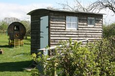 www.gypsycaravanbreaks.co.uk   find the bathroom tucked away in this shepherd's hut