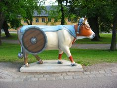 Cow Parade in Stockholm 2004