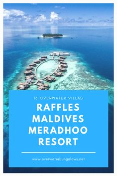 Maldives Water Villa, Overwater Bungalows, Resort Villa, Island Nations, Resorts, Vacation Resorts, Beach Resorts, Vacation Places