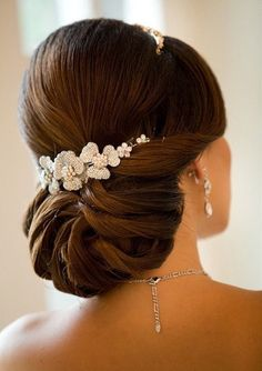 Everything has to be just right on your wedding day and, even though a lot revolves around your bridal gown, great importance is also offered to your hair.