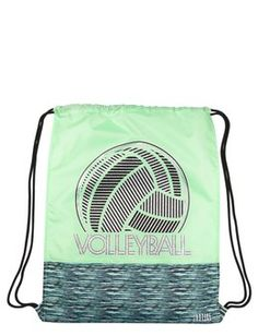 Space Dye Volleyball Drawstring Tote Volleyball Team 6bd3f0746244e