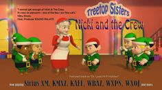 """Nicki and the Crew"" by the Treetop Sisters is featured this week on Dr. Lyons ""Hi Fi Holiday"" sampler! Add-on to your station's holiday playlist today! Available for downloading and streaming now at: http://www.allaccess.com/audio/player/q/aid/3521/treetop-sisters/nicki-and-the-crew  or contact Sam Kaiser at sam@mvpent.com Here's wishing your entire radio family happy holidays and best wishes for the New Year!"