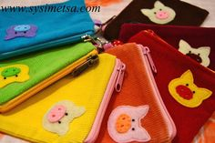 Items similar to Pig Zipper Pouch - Felt Piglet Corduroy Pouch - Corduroy Felt Pig Zipper Pouch With Key Ring on Etsy Zipper Pouch, Corduroy, Coin Purse, Felt, Purses, Trending Outfits, Unique Jewelry, Handmade Gifts, Etsy