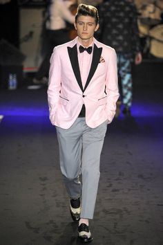 Jack's tux for prom, except with fuchsia instead of that pink