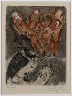 marc chagall biblical paintings #MarcChagall learn more on http://www.johanpersyn.com/category/humanity/art/marc-chagall/