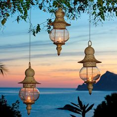 Ideal Laterne Caribean Night er Set inkl St be