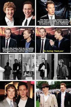 Benedict Cumberbatch & Tom Hiddleston