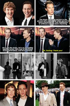 Benedict Cumberbatch & Tom Hiddleston