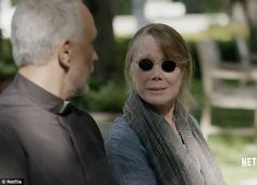 Coming clean: Sissy Spacek, who plays Sally, the matriarch of the Rayburn family, says, 'I'd like to confess...I don't know how to begin...I think my family's cursed....' in the teaser for the third and final season of Netflix drama Bloodline, released on Monday