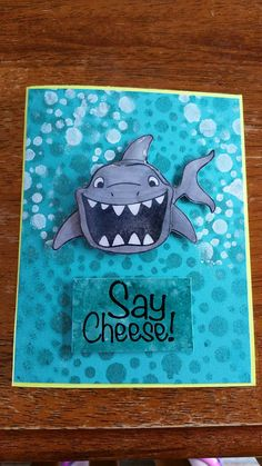 """""""Say Cheese"""" stamp set from Fun Stampers Journey. FREE with $50 order."""