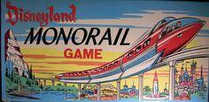Disneyland Monorail Game
