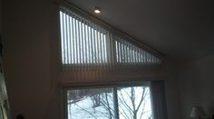 1000 Images About Angled Window Coverings On Pinterest