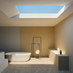 """There's an innovative new light technology that's trying to shake up the way people think about """"artificial light."""" In Italian company called CoeLux has developed a new light source that recreates the look of sunlight through a skylight so well that it can trick both human brains and cameras. This reminds me the work of James Turrell."""