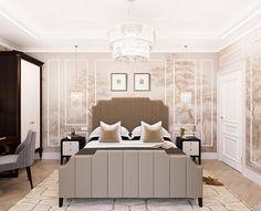 """Была спальня простая а теперь """"золотая""""))) Для решения стен подобрали обои выполненные в лёгкой акварельной технике. Акварельные деревья в традиционном классическом стиле ручной росписи от @fresq_ru #bedroomdesign #bedroom #3dvisualization - Architecture and Home Decor - Bedroom - Bathroom - Kitchen And Living Room Interior Design Decorating Ideas - #architecture #design #interiordesign #diy #homedesign #architect #architectural #homedecor #realestate #contemporaryart #inspiration #creative…"""