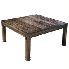 """Solid Wood Espresso Transitional 64"""" Square Dining Table Furniture for 8"""