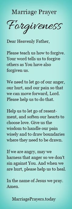 Every marriage can use prayer. A marriage prayer to help us forgive. No marriage… Every marriage can use prayer. A wedding prayer to help us forgive. No marriage is perfect. Couples Prayer, Marriage Prayer, Godly Marriage, Marriage Relationship, Marriage Advice, Love And Marriage, Happy Marriage, Healthy Marriage, Christian Marriage Quotes
